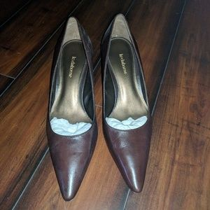 Brand new Liz Claiborne brown heels